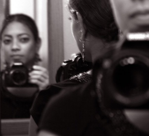 © 2007 Nicole Canegata - My First Canon SLR Camera (Self Portrait)