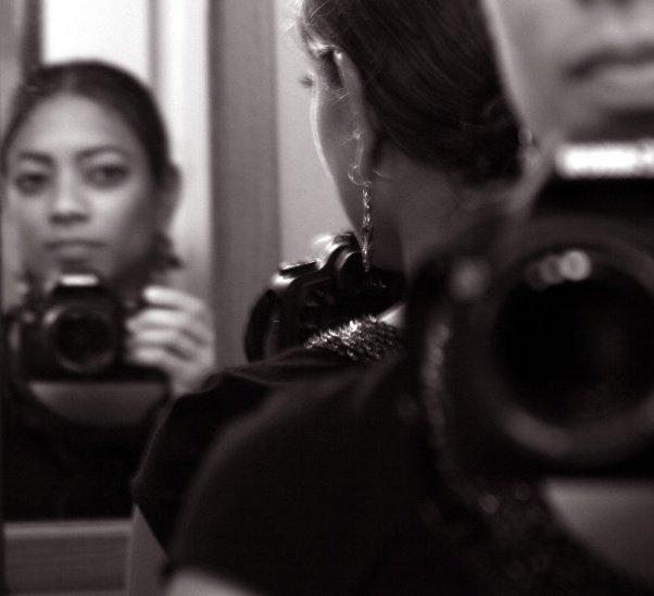 © 2007 Nicole Canegata - My First Canon SLR Camera (Self Portrait)