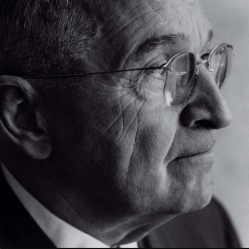 © 1961 Fritz Henle - Portrait of President Harry S. Truman