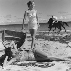 © 1948 Fritz Henle - On the Beach in Frederiksted, St. Croix, USVI