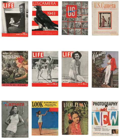 Fritz Henle's Magazine Covers
