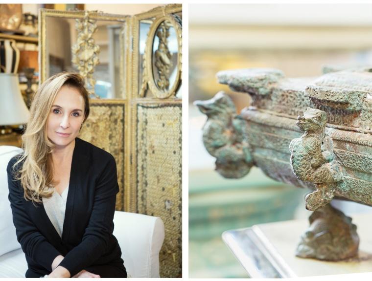 © 2014 Nicole Canegata - Owner of Montecito Treasures: Lori Frisbie (left)